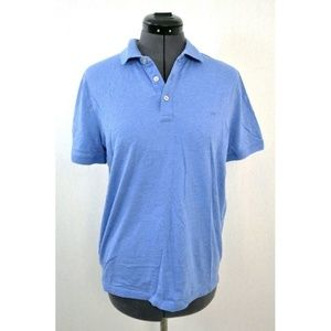 Michael Kors Men's T-Shirt Polo Blue Collared